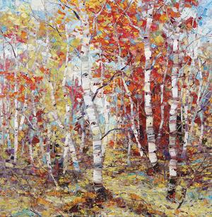 Birch Colors 3 by Dean Bradshaw