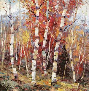 Birch Colors 4 by Dean Bradshaw