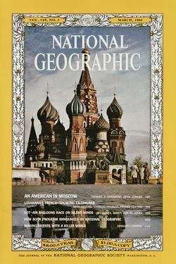 Cover of the March, 1966 National Geographic Magazine by Dean Conger