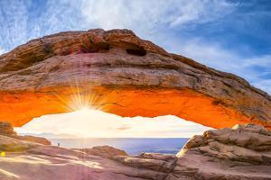 Mesa Arch Panorama by Dean Fikar