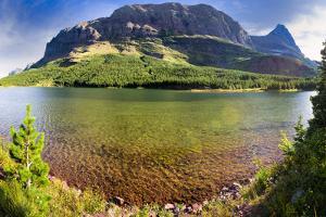 Red Rock Lake Panorama by Dean Fikar