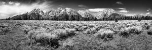 Teton Panorama by Dean Fikar