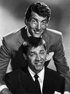 Dean Martin and Jerry Lewis, c. 1955 (b/w photo)