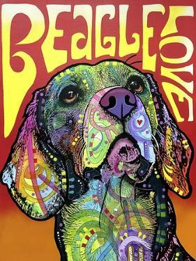 Beagle Love by Dean Russo