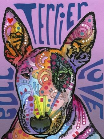 Bull Terrier Luv by Dean Russo