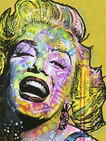 Golden Marilyn by Dean Russo