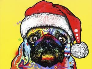 Pug Christmas Edition by Dean Russo