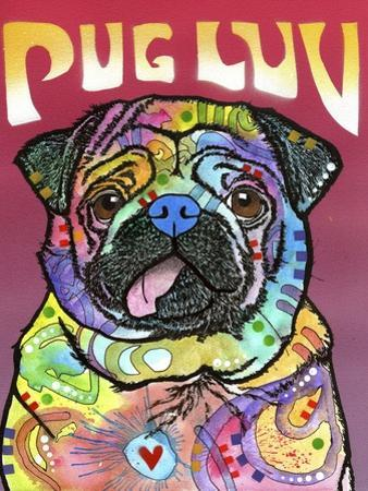 Pug Luv by Dean Russo