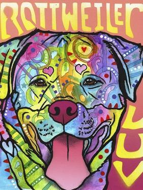 Rottweiler Luv by Dean Russo