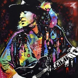 Stevie Ray Vaughan by Dean Russo