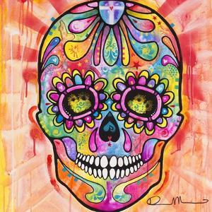 Sugar Skull - Day of the Dead by Dean Russo