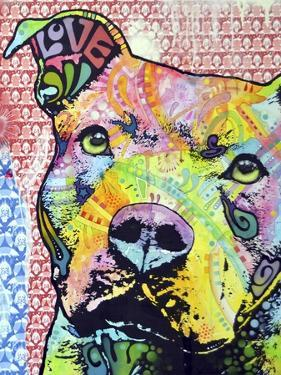 Thoughtful Pit Bull This Years Love 2013 Part 1 by Dean Russo
