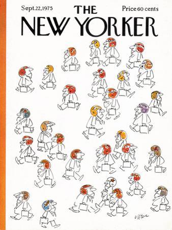 The New Yorker Cover - September 22, 1975