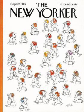 The New Yorker Cover - September 22, 1975 by Dean Vietor