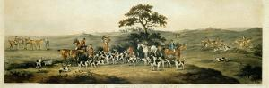 Foxhunting, Plate 3, Engraved by Thomas Sutherland (1785-1838) 1817 by Dean Wolstenholme