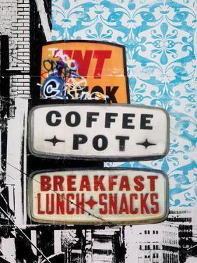 Urban Collage Café by Deanna Fainelli