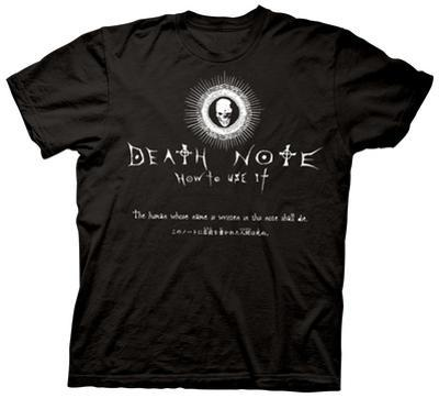 Death Note - How to Use It