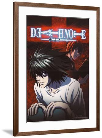 Death Note - Japanese Style--Framed Poster
