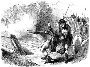 Death of Isaac Davis, 1775