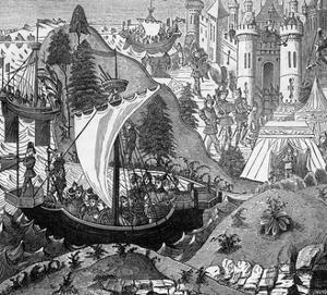 Death of King Richard I