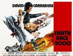 Death Race 2000, Simone Griffeth, David Carradine, 1975