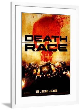 Death Race--Framed Original Poster