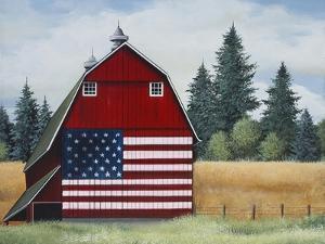 Americana Barn by Debbi Wetzel