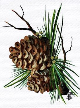 pine cone copy brochure by Debbi Wetzel