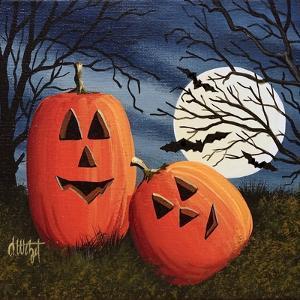 Pumpkin Love Pillow by Debbi Wetzel