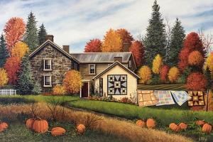 Pumpkins Fall Quilts by Debbi Wetzel