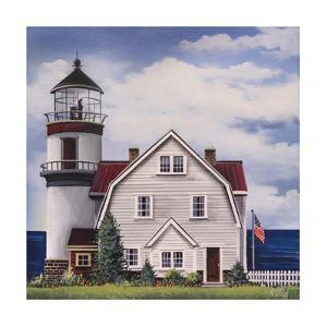 White Lighthouse by Debbi Wetzel