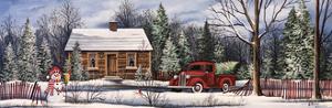 Winter Snowman Truck by Debbi Wetzel