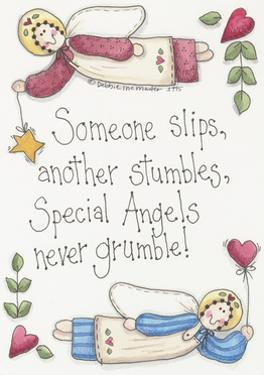 Angels Never Grumble by Debbie McMaster