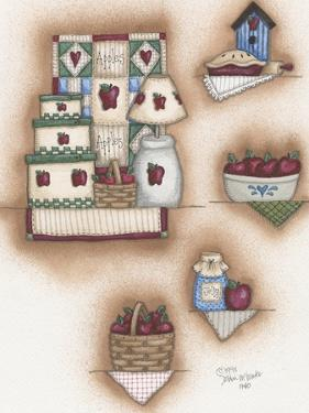 Apple Collage by Debbie McMaster