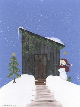 Barnwood Outhouse by Debbie McMaster