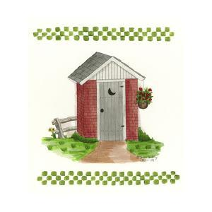Brick Outhouse by Debbie McMaster
