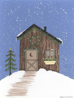 Brown Outhouse by Debbie McMaster