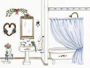 Country Bath 1 by Debbie McMaster