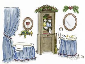 Country Bath 3 by Debbie McMaster