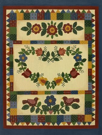 Flower Quilt 1 by Debbie McMaster