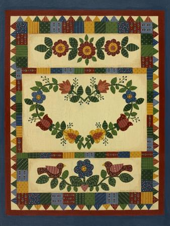 Flower Quilt 1 by Debbie McMaster