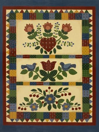 Flower Quilt 2 by Debbie McMaster