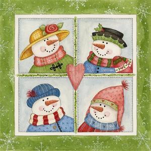 Four Snowmen by Debbie McMaster