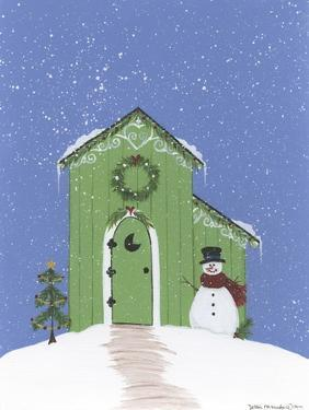 Light Green Outhouse by Debbie McMaster