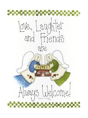 Love, Laughter and Friends by Debbie McMaster