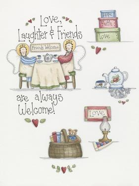 Love Laughter Friends by Debbie McMaster
