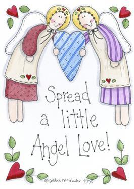 Spread a Little Angel Love by Debbie McMaster
