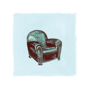 Frau Chair IV by Debbie Nicholas