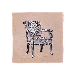 Urn Chair III by Debbie Nicholas