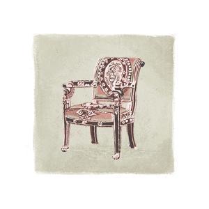 Urn Chair IV by Debbie Nicholas